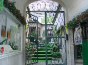 Lokanta girişi