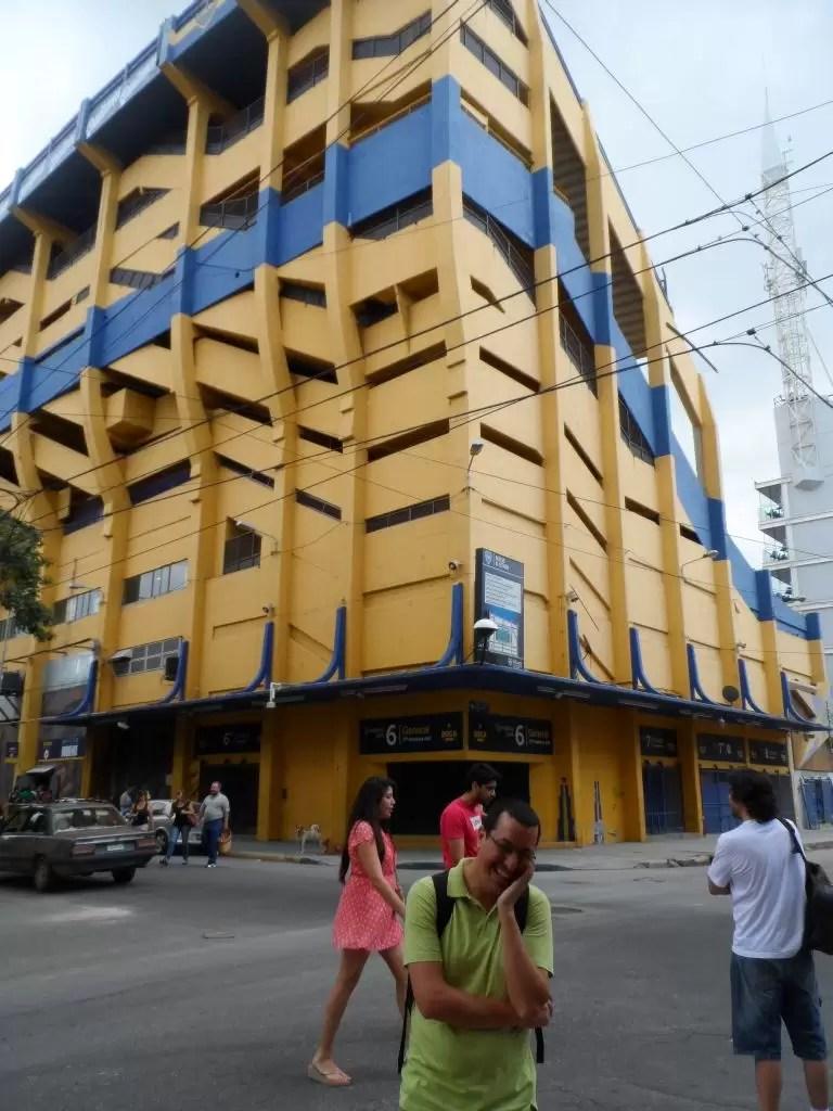 Boca Juniors'ın stadı La Bombonera