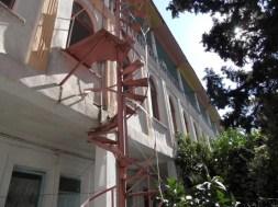 Akhisar Oteli Avlusu