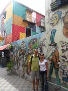La Boca'nın duvar resimleri