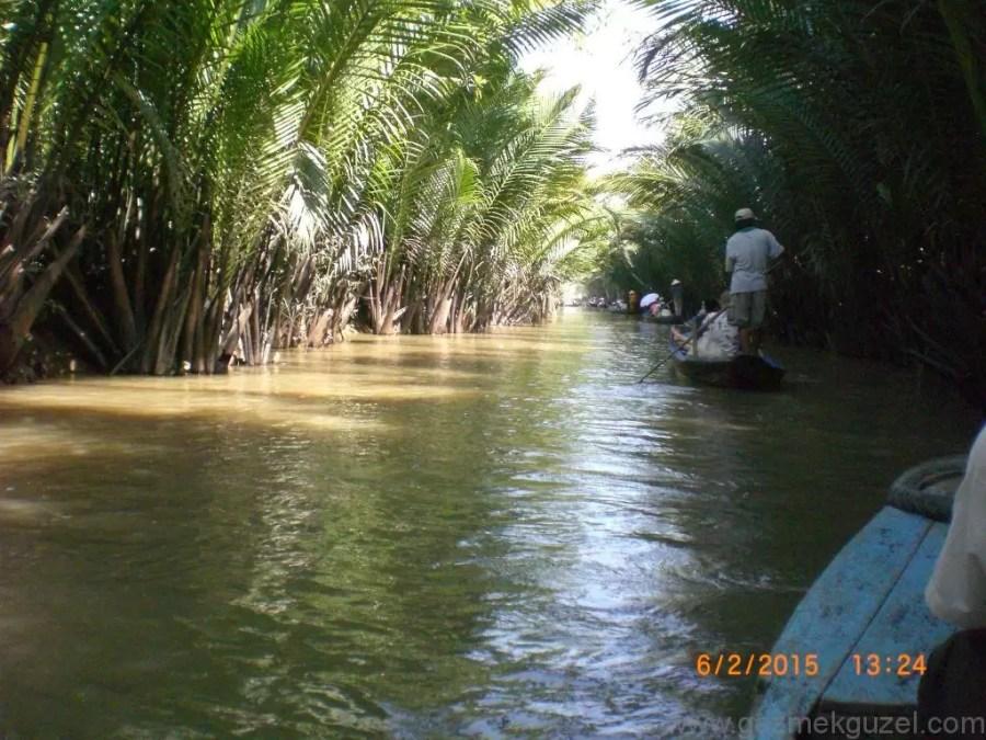 Laos - Kamboçya - Vietnam Gezisi Notları, Ho Chi Minh Gezilecek Yerler, Mekong Deltasında Kano Turu