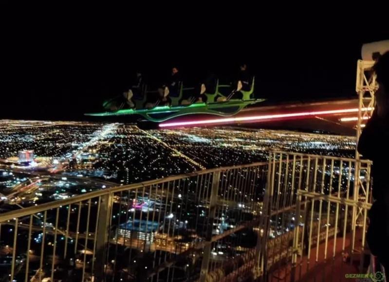 Las Vegas Eğlence Stratosphere X-Scream
