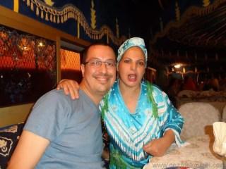 Marakeş Gece hayatı Chez Ali Dansçıları