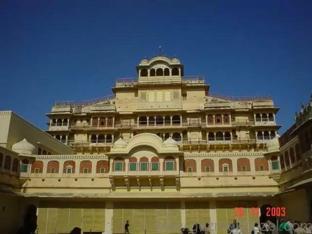 Modern Saray, Jaipur, Hindistan