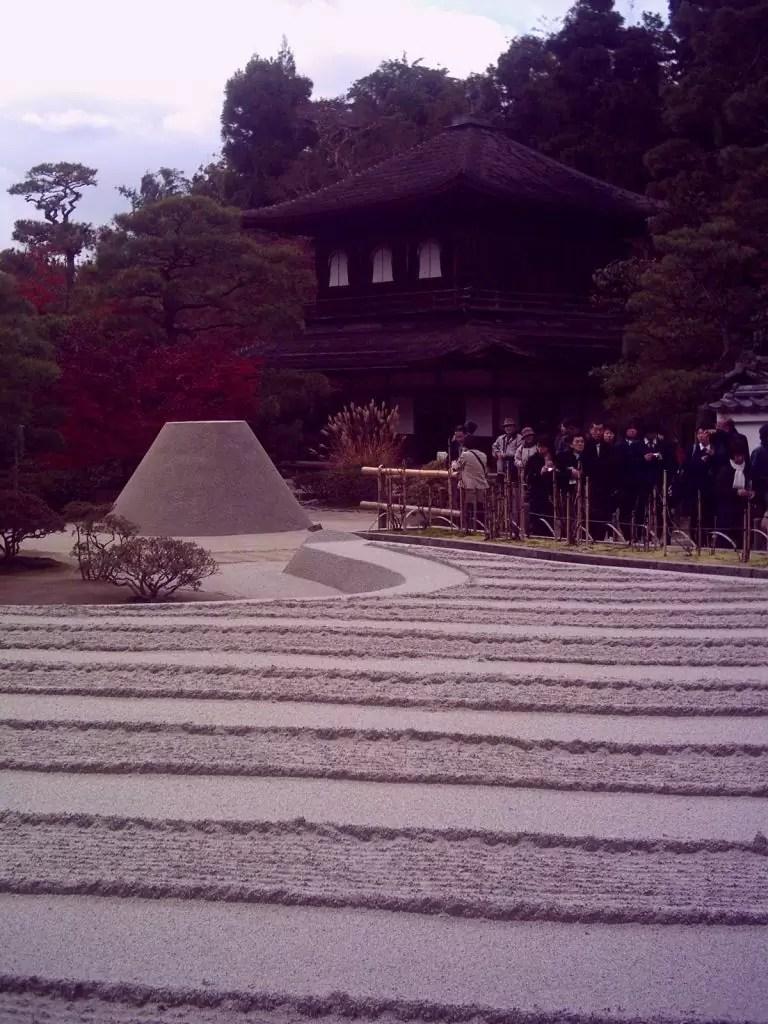 Gümüş tapınak Ginkakuji