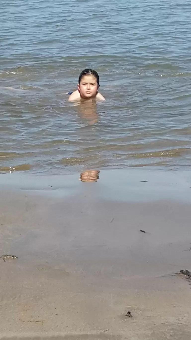 Katakolon'da deniz keyfi