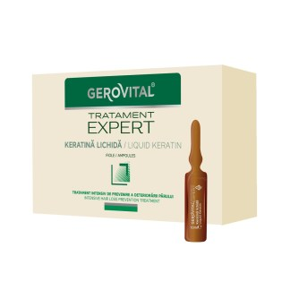 Gerovital Keratine ampoules