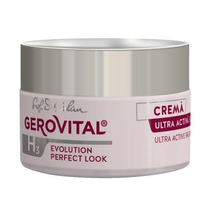 Evolution Ultra Active Radiance Cream Hyaluronic Acid Gerovital