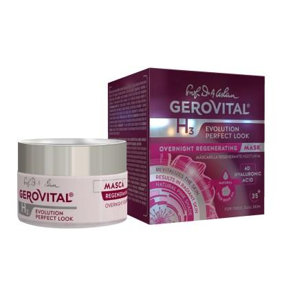 Gerovital overnight regenerating mask hyaluronic acid
