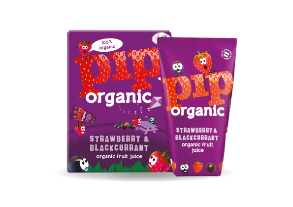 Kids Carton Strawberry & Blackcurrant