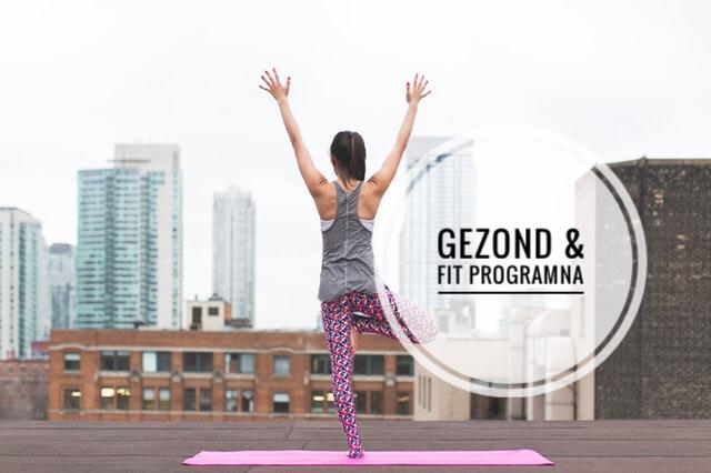 gezond fit programma