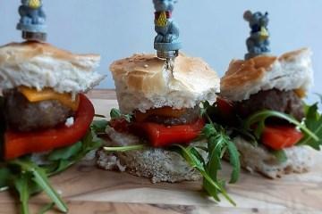 Recept voor mini hamburgers