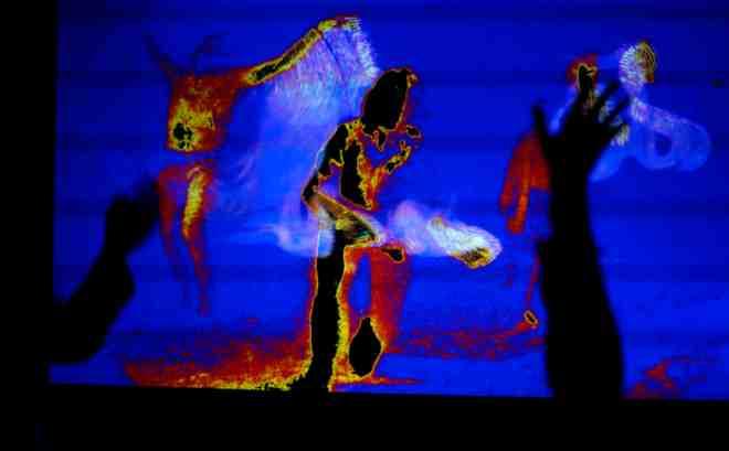 SlowFlow Disco, Jeanine Theunissen, Paul van Weert, Mindful Moving, Dansmeditatie, dansavond, Tech visuals