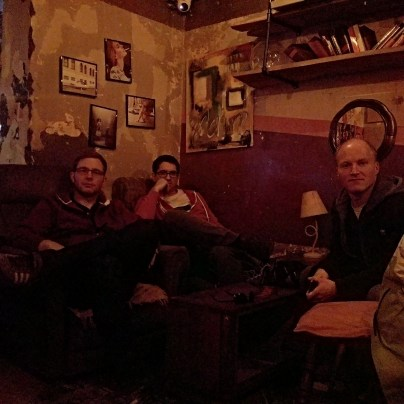 Band Bild #3 in der Ruin Bar Tirana
