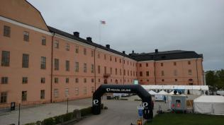Uppsala Slott (mit Zieleinlauf)