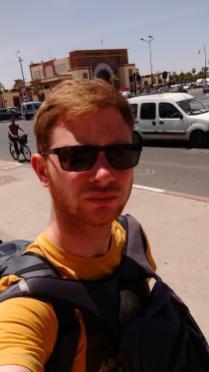 Unterwegs in Marrakesch - es ist heiß