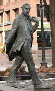 Kevin Hagan Statue