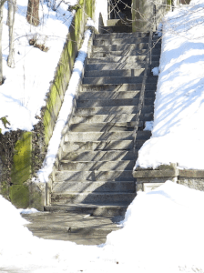 Cleared Stairway