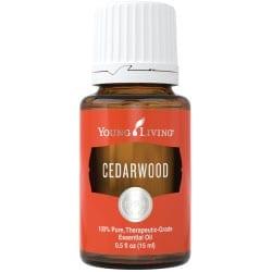 Cedarwood essential oil, 15 ml