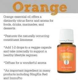 orange uses