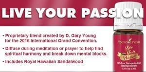 live-your-passion oil blend info