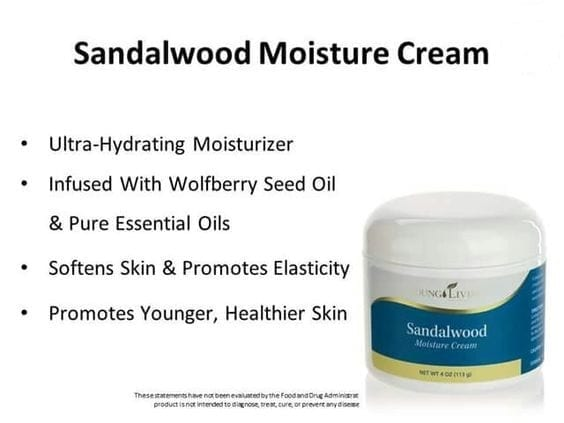 Sandalwood Moisture Cream