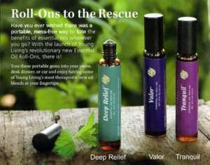 Our Young Living Proprietary Essential Oil Roll Ons Make