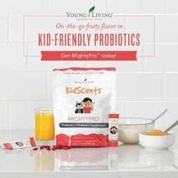 Kidscents MightyPro Prebiotic and Probiotic Supplement