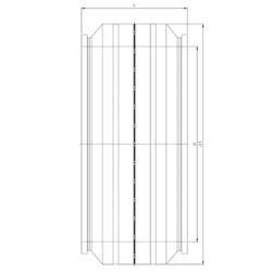Электросварная муфта d710-d1200 (схема)