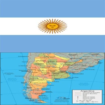 Flag_argentina-map