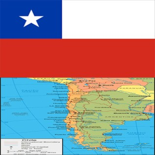 Flag_chile-map