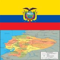 Flag_ecuador-map