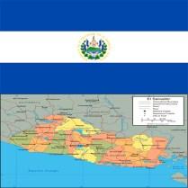 Flag_el-salvador-map
