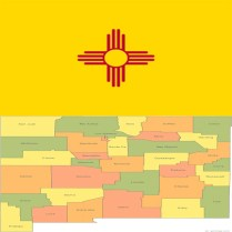 Flag_new-mexico-county-map
