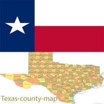 Flag_texas-county-map