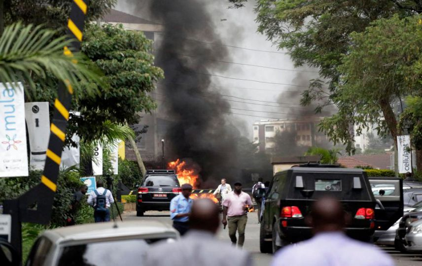 LLL - Live Let Live - British man and American woman among 14 people killed in Kenya hotel rampage claimed by Al-Shabaab terrorists
