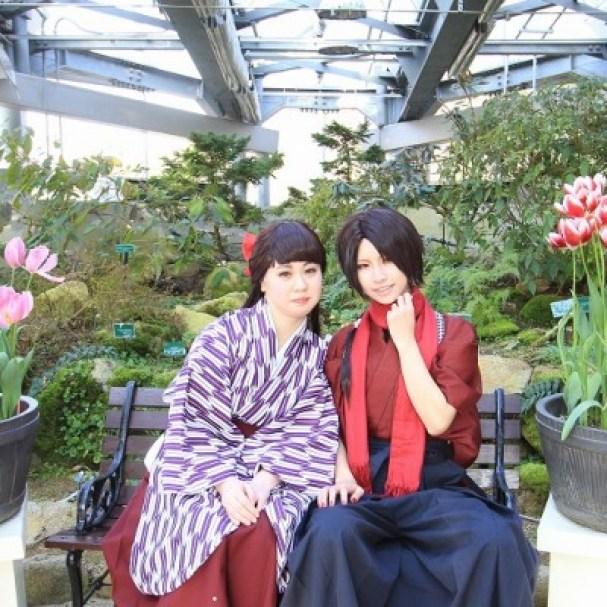 「コスプレの日 花の文化園」の画像検索結果
