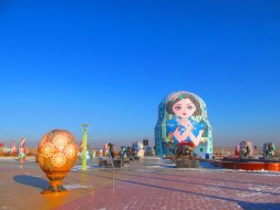 Matryoshka doll and Fabergé egg