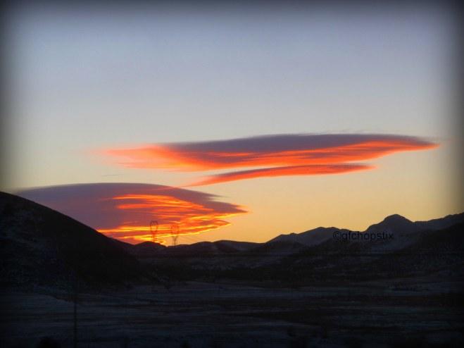 Sunset over Inner Mongolia