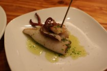 el pintxo grilled squid