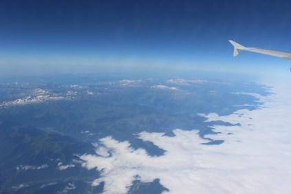 plane over france