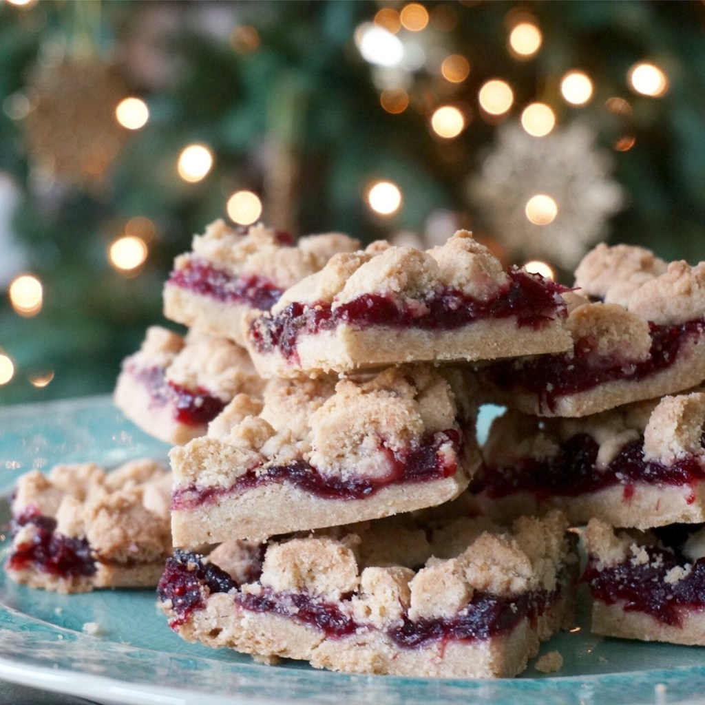 Kyra Bussanich's Gluten-Free Browned Butter Cranberry Cheer Bar Recipe