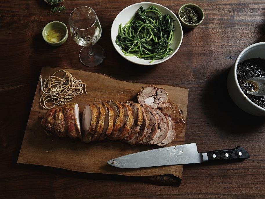 """Craig Stoll's Superfast Turkey Recipe: """"Turchetta"""" aka Gluten-Free Porchetta-Style Roasted Turkey"""