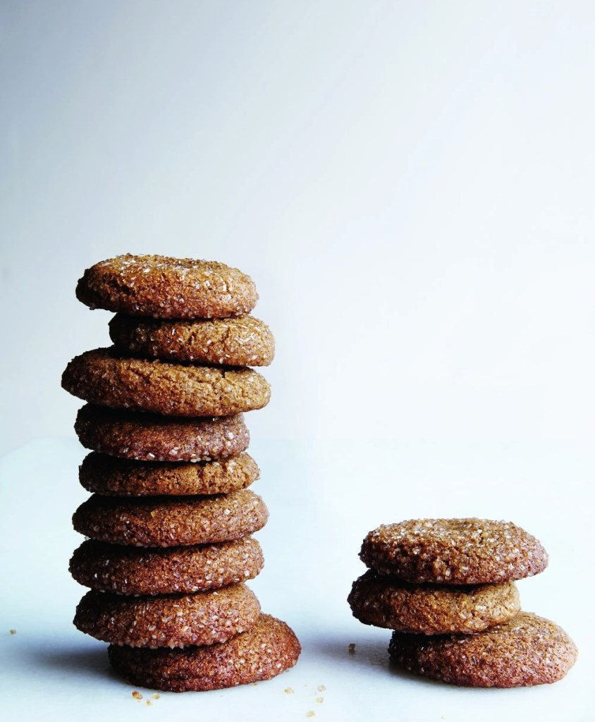 Gluten-Free, Dairy-Free Ginger Crinkle Cookies Recipe