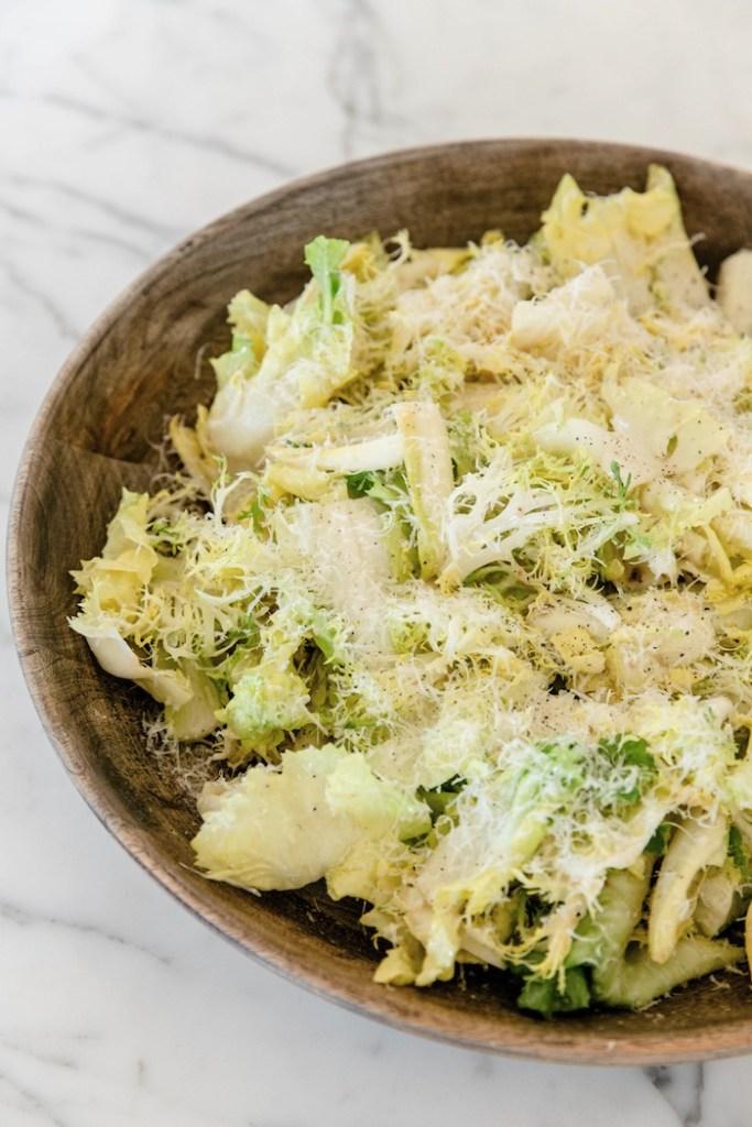 White Caesar Salad Recipe