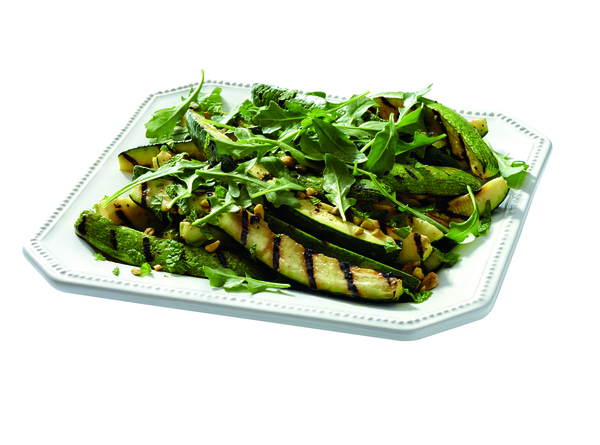 Gluten-Free Grilled Zucchini with Pistachios and Mint Recipe