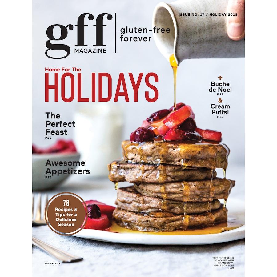 A Peek Inside GFF Magazine's Holiday 2018 Issue + Recipe Index!