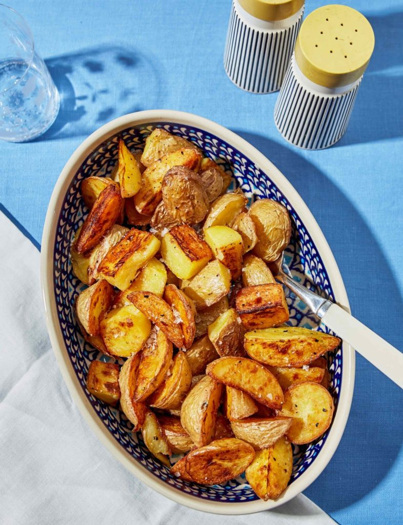Chicken Fat–Roasted Potatoes