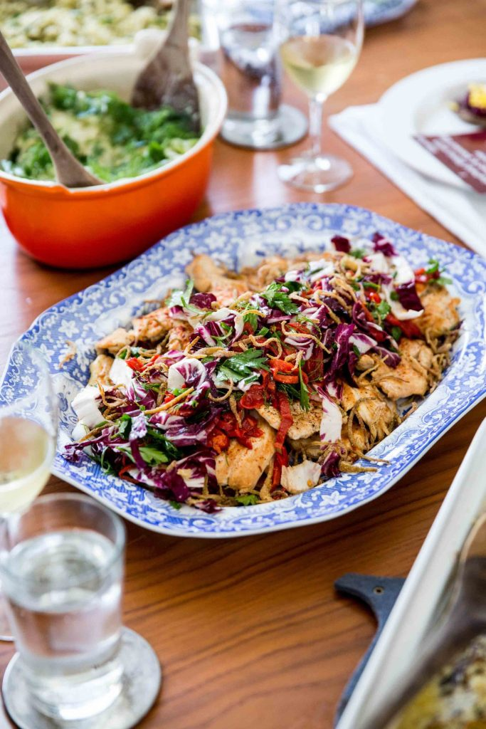 Gluten-Free Chicken Paillard with Romesco Recipe