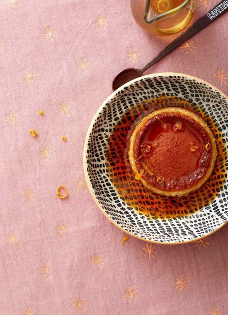 Double Orange Flan Recipe